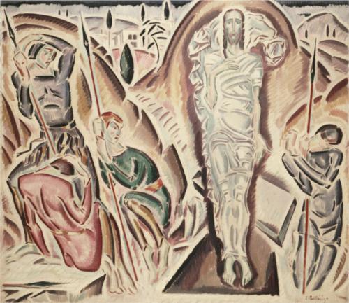"""""""Zmartwychwstanie"""" Konstantinos Parthenis 1917"""
