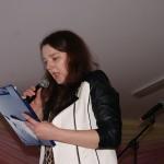 prowadząca program Irena Oknińska