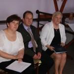 organizatorzy: Elżbieta Oknińska -przew.koła gospodyń, Wiesław Okniński - sołtys, Janina Misiak - radna gminy(nawiasem mówiąc z domu też Oknińska)