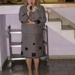 dyrektor Gminnego Ośrodka Kultury w Wiśniewie i szef wszystkich szefów kół gospodyń w gminie - p. Janina Dołgich