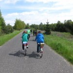 zielona trasa w kierunku Myrchy