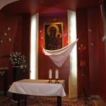 wnętrze kościoła - kaplica