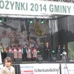 Przemawia gospodarz dożynek wójt gminy Wiśniew p.Krzysztof Kryszczuk