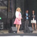 w imieniu organizatorów wita gości Monika Ciołek - przewodnicząca koła gospodyń