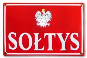 tablica-tabliczka-SOLTYS-emaliowana-20-x-30-GW